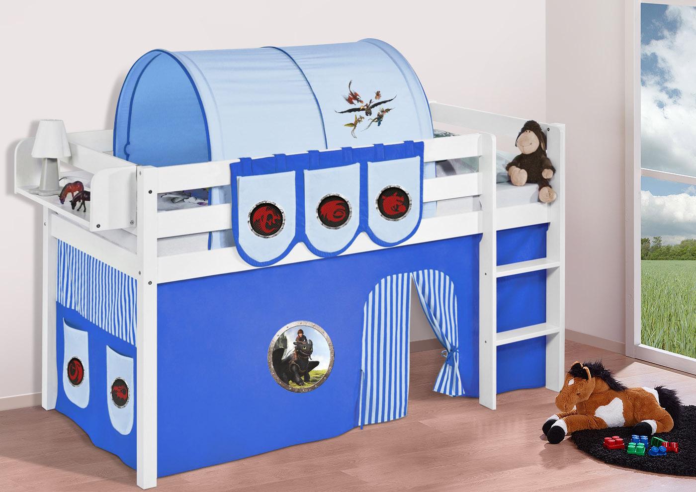 Vorhang Etagenbett Feuerwehr : Spielbett hochbett kinderbett jelle buche massivholz vorhang