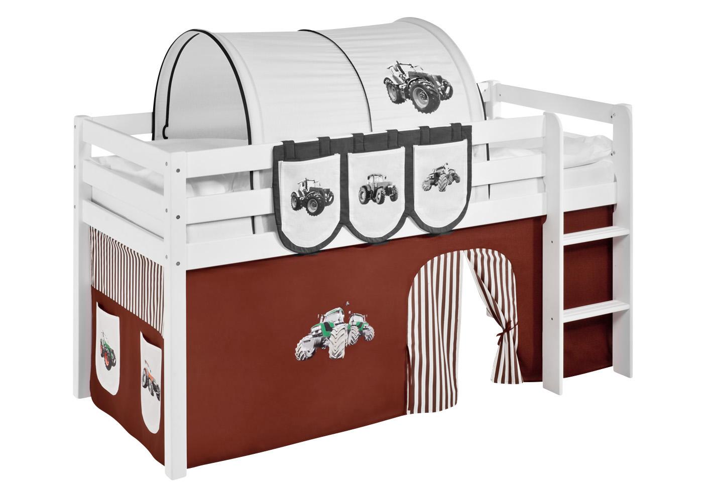 vorhang set f r kinder hochbetten spielbetten 2 teilig lilokids versch motive ebay. Black Bedroom Furniture Sets. Home Design Ideas
