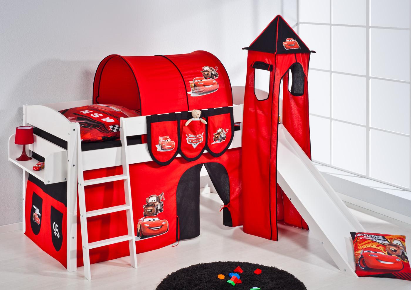 Cama De Juego Cama De Arriba Cama Para Niños Cama Infantil Con Torre