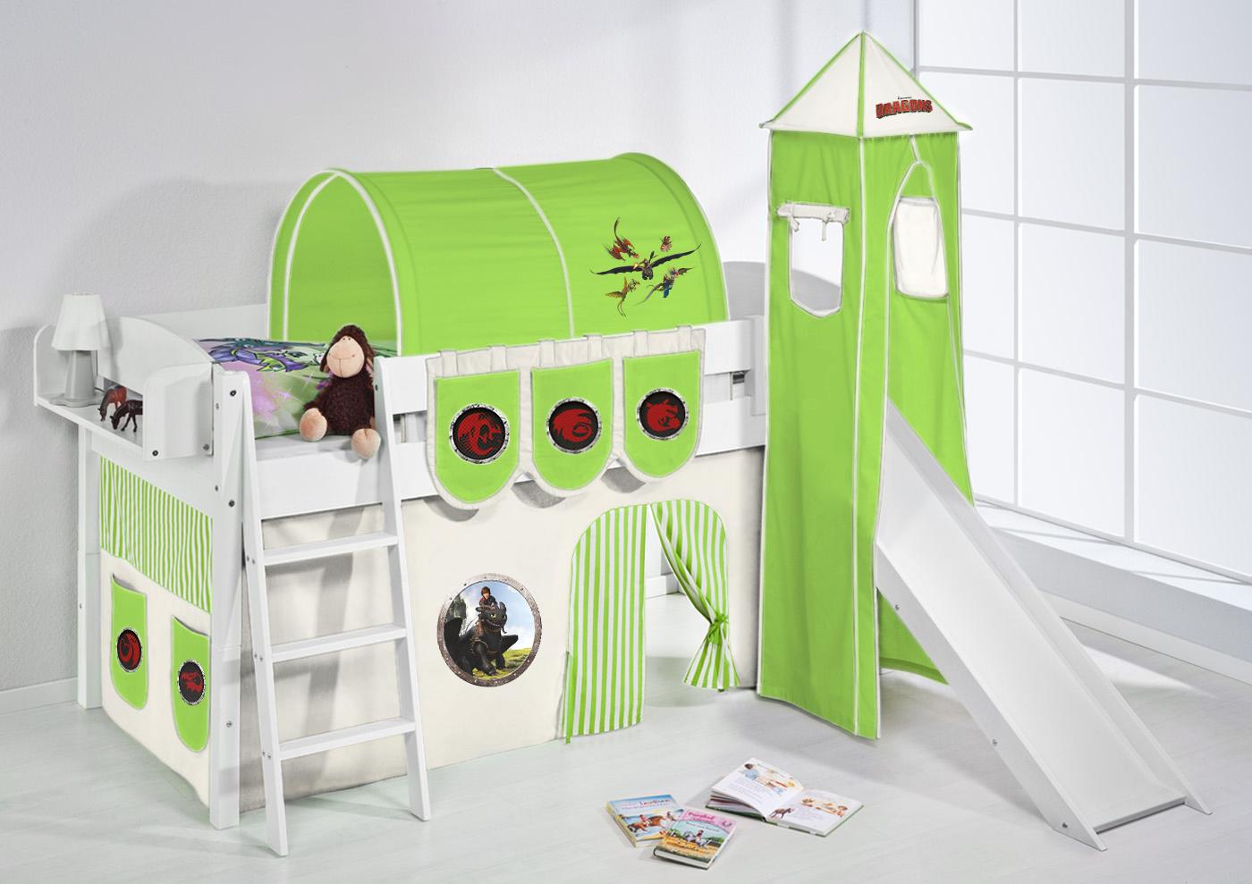 jouer lit aire de jeux mezzanine d 39 enfant enfants avec tour et toboggan 4105. Black Bedroom Furniture Sets. Home Design Ideas