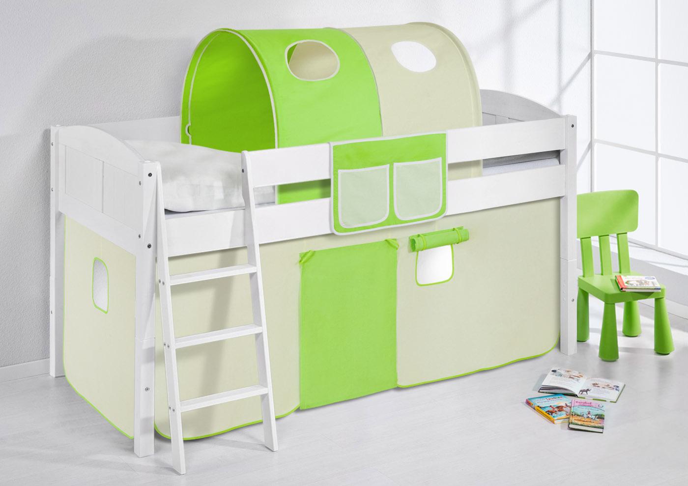 Etagenbett Umbaubar : Spielbett hochbett kinderbett kinder bett umbaubar zum einzelbett