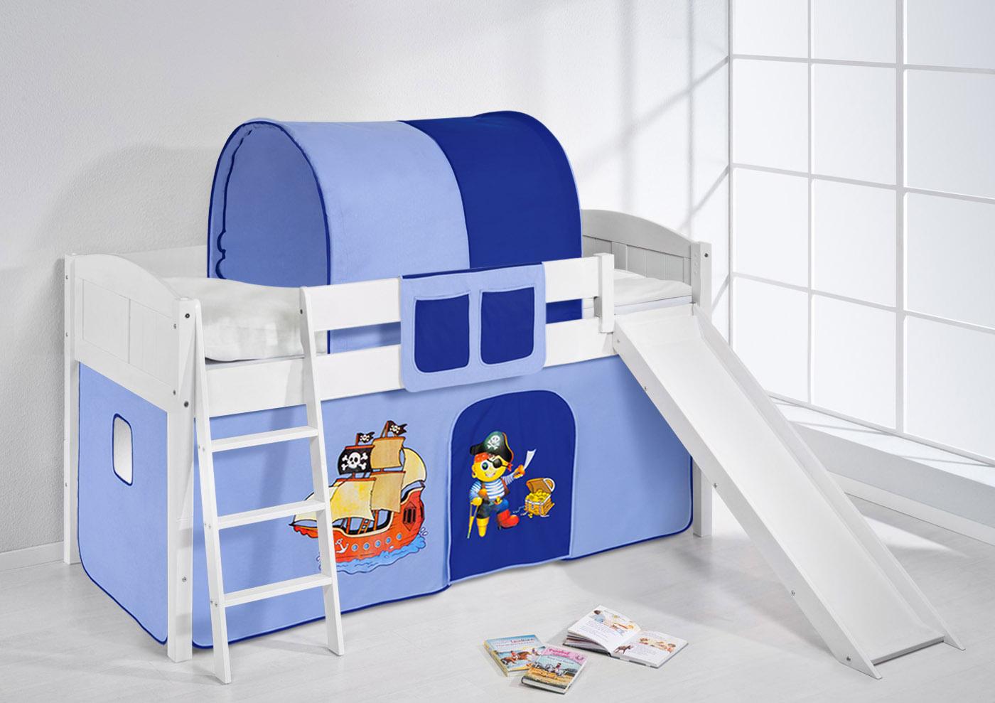 Etagenbett Kinder Umbaubar : Etagenbett kinder kinderbett funktionsbett tim umbaubar zu einem