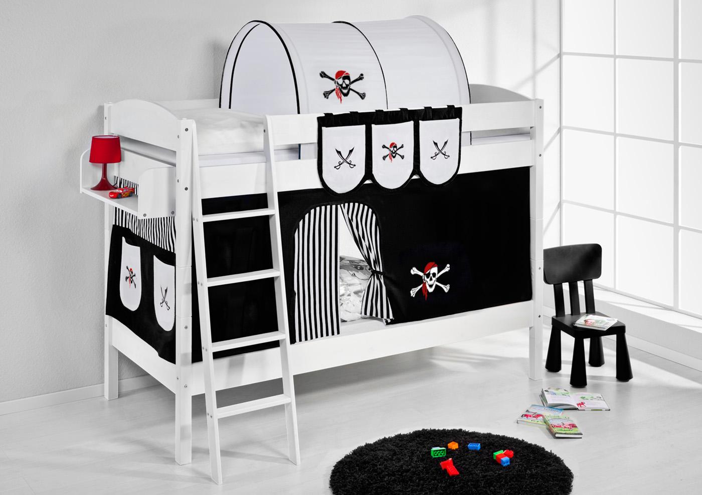 gardinen deko hochbett vorh nge feuerwehr gardinen dekoration verbessern ihr zimmer shade. Black Bedroom Furniture Sets. Home Design Ideas