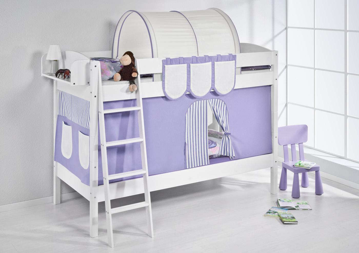 Childrens Bunk Bed Cabin Bed Midsleeper 4105 Lilokids New
