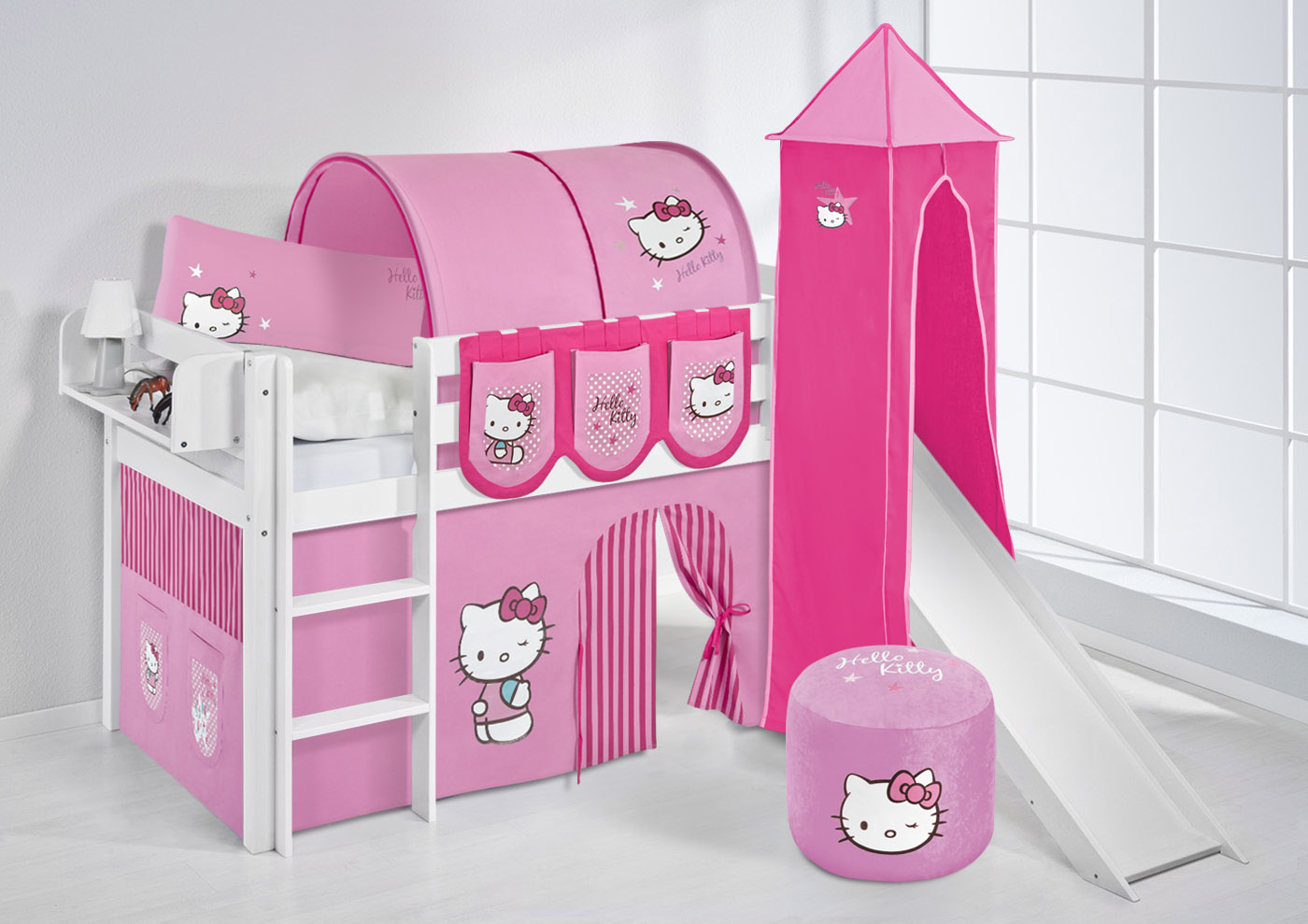 hello kitty bett angebote auf waterige. Black Bedroom Furniture Sets. Home Design Ideas
