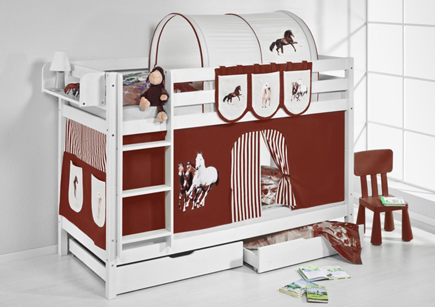 Etagenbett Kinder Spielbett : Tau abenteuer bett doppelstockbett hochbett spielbett rutsche in