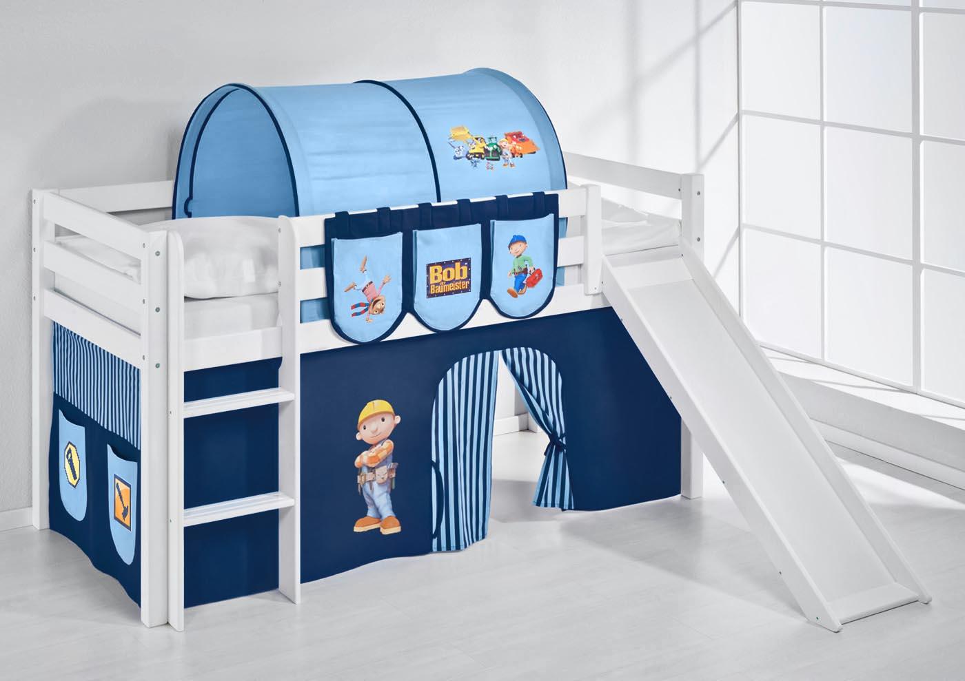 cabin bed bunk bed midsleeper highsleeper jelle slide. Black Bedroom Furniture Sets. Home Design Ideas