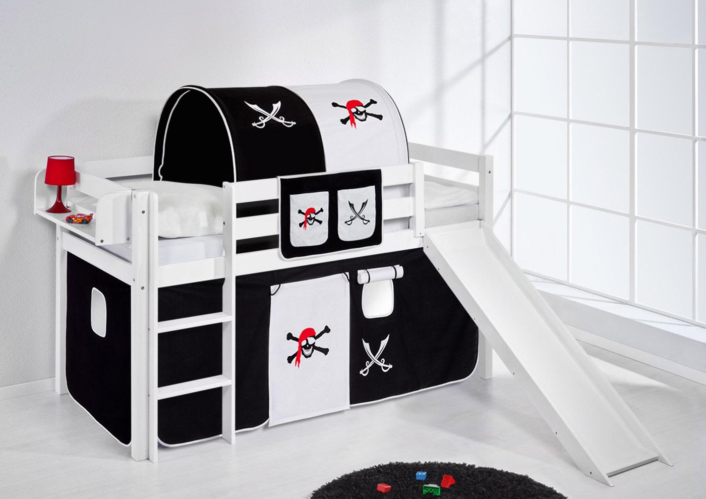 lit demi mezzanine. Black Bedroom Furniture Sets. Home Design Ideas