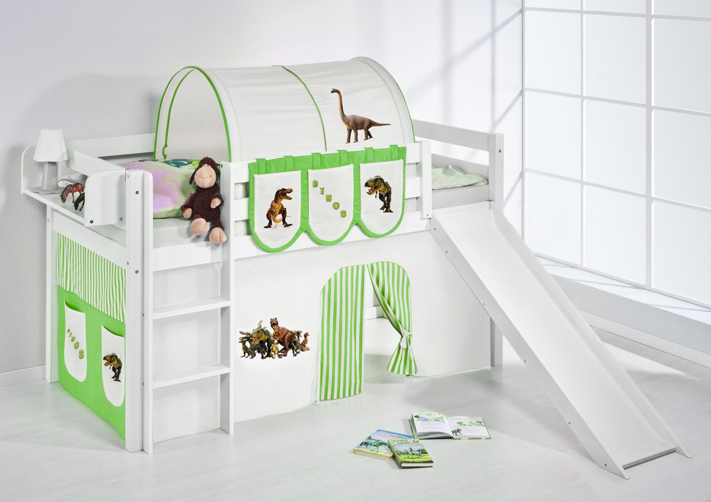 Bezaubernd Hochbett Kinder Beste Wahl Spielbett-hochbett-kinderbett-kinder-bett-jelle-mit-rutsche-
